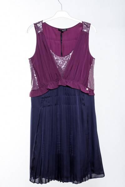 Vestido bicolor | LIUJO