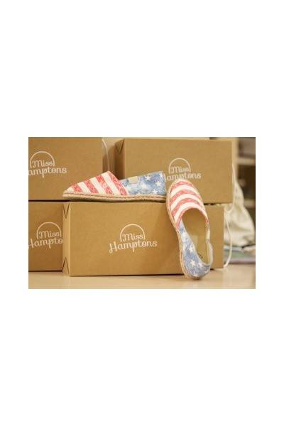 Alpargatas Stars & Stripes | MISS HAMPTONS