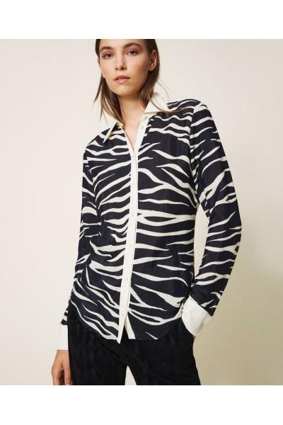 Camisa animal print | Twinset