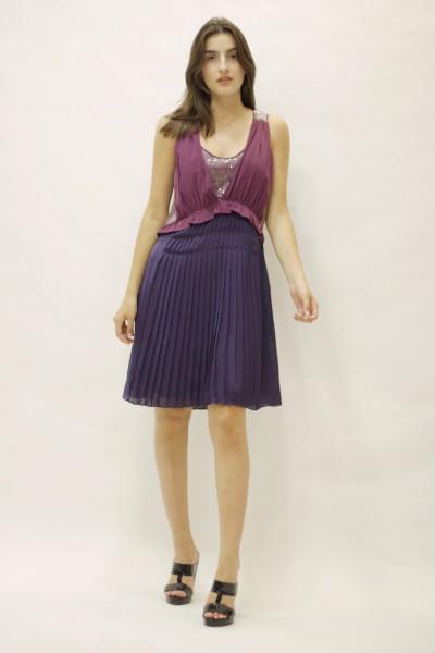 Vestido bicolor   LIUJO