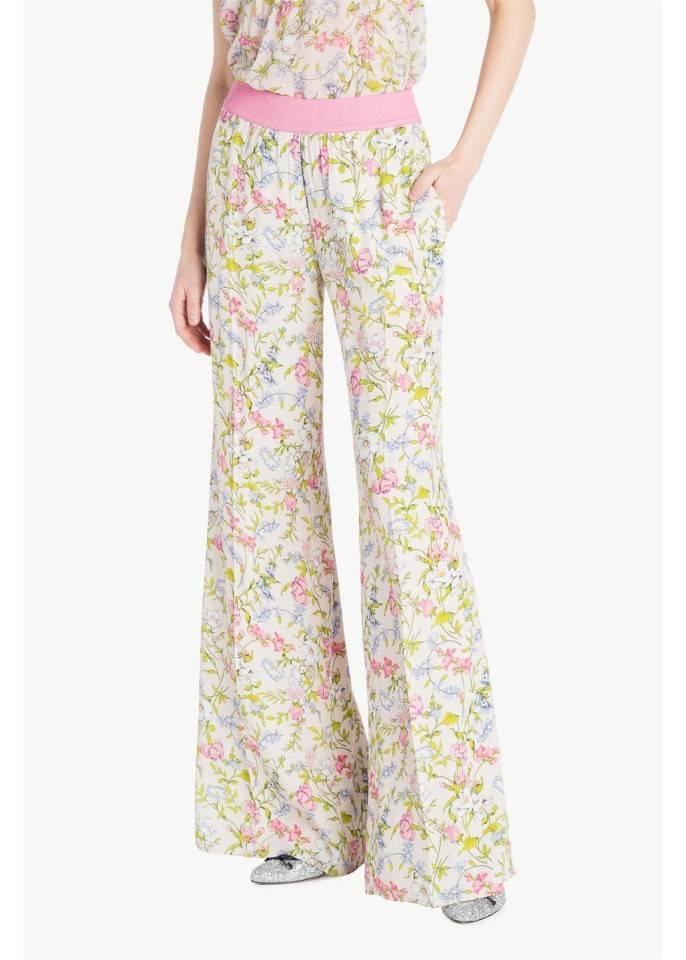 pantalon palazzo estampado | twin set
