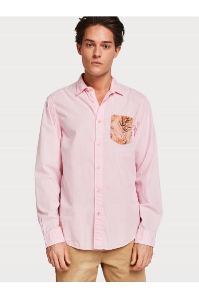 Camisa bolsillo estampado | scotch&soda
