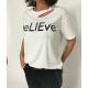 Camiseta believe   Silvian Heach