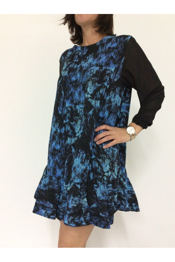 Vestido manga larga | silvian heach