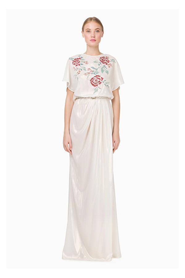 Vestido diosa griega   elisabetta franchi